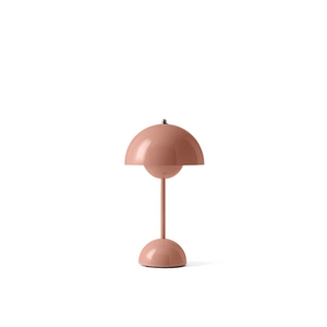 &Tradition Flowerpot VP9 Lampe à Poser Portable Beige Rouge