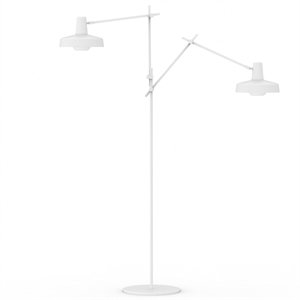 Grupa Products Arigato Double Lampadaire Blanc