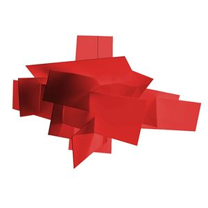 Foscarini Big Bang Plafonnier/Applique murale Rouge