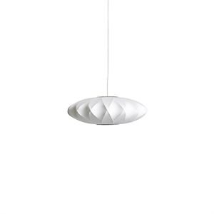 HAY Nelson Saucer Crisscross Bubble Suspension Petit Blanc