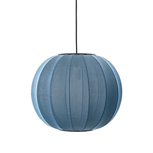 Made By Hand Knit-Wit Round Suspension Blue Stone Ø45