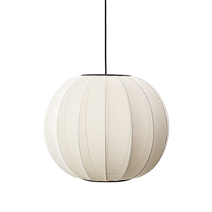 Made By Hand Knit-Wit Round Suspension Pearl White Ø45