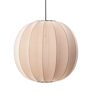 Made By Hand Knit-Wit Round Suspension Sand Stone Ø60