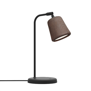 NEW WORKS Material Lampe à Poser Smoked Oak