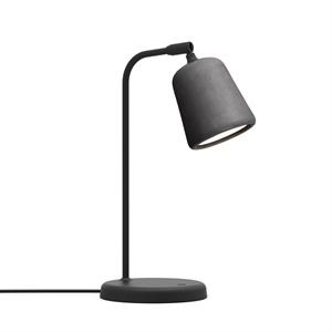 NEW WORKS Material Lampe à Poser Concrete Dark Grey