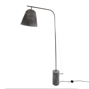 NORR11 Line Two Lampadaire Oxydé