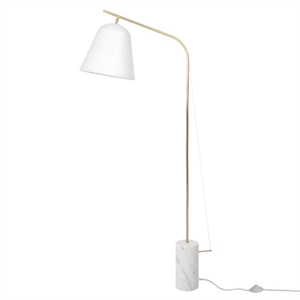 NORR11 Line Two Lampadaire Blanc