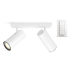 Philips Hue Connected Buratto 2-Spot Blanc