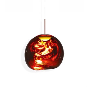 Tom Dixon Melt Suspension LED Copper Petit