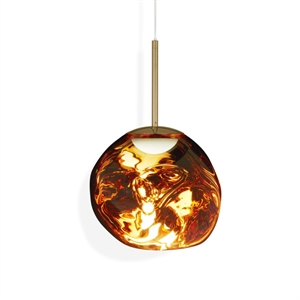 Tom Dixon Melt Suspension LED Gold Petit