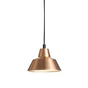 Made By Hand Lampe dAtelier Suspension Cuivre/Blanc W1