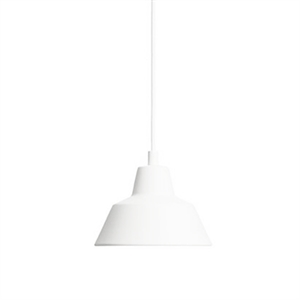 Made By Hand Lampe dAtelier Suspension Blanc Mat W1