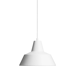Made By Hand Lampe dAtelier Suspension Blanc Mat W2
