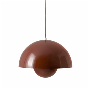 &tradition Flowerpot VP2 Suspension Rouge & Brun
