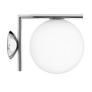 Flos IC C/W 2 Applique murale Chrome