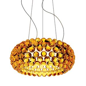 Foscarini Caboche Pendel Media LED Guld