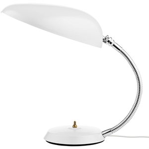 GUBI Grossman Collection Cobra Lampe à poser Blanc