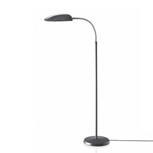 GUBI Grossman Collection Cobra Lampadaire Gris Anthracite