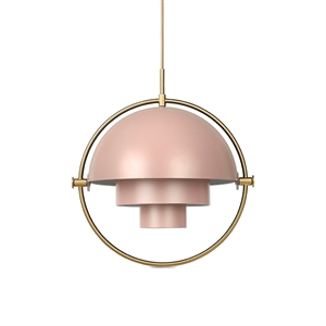 GUBI Multi-Lite Suspension Rose & Laiton