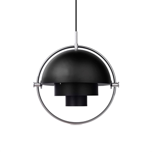 GUBI Multi-Lite Suspension Chrome & Noir