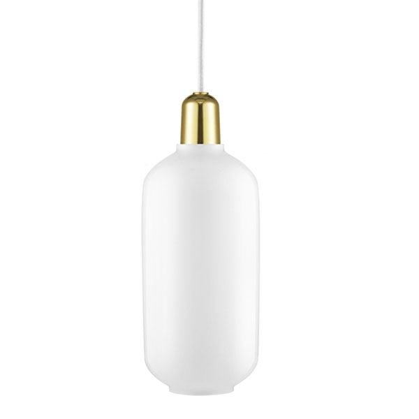 Normann Copenhagen Amp Suspension Grand Blanc/Laiton