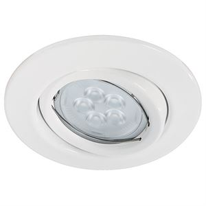 Paulmann Quality Line LED Round 6,5W Blanc (3 Packs)