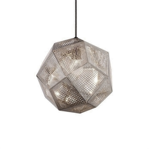 Tom Dixon Etch Acier Inoxydable Suspension