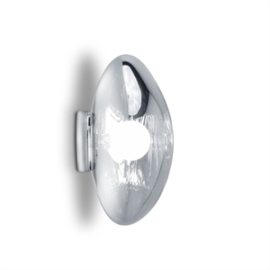 Tom Dixon Melt Surface Lampe à poser et applique murale Chrome