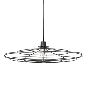 WATT A LAMP Radio Suspension Grand Gris foncé