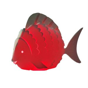 Zoolight Mini Fisk Børne Bordlampe